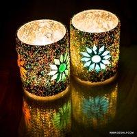 Beautiful Glass Decor Candle Holder