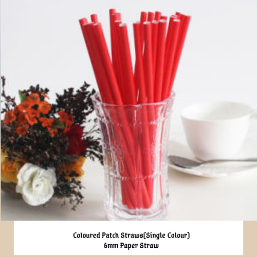 Colour Paper Straws
