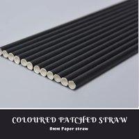 Single Colour Paper Straw