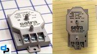 Setra Model 265 Differential Pressure Transducer Range 0- 2.5 Inch