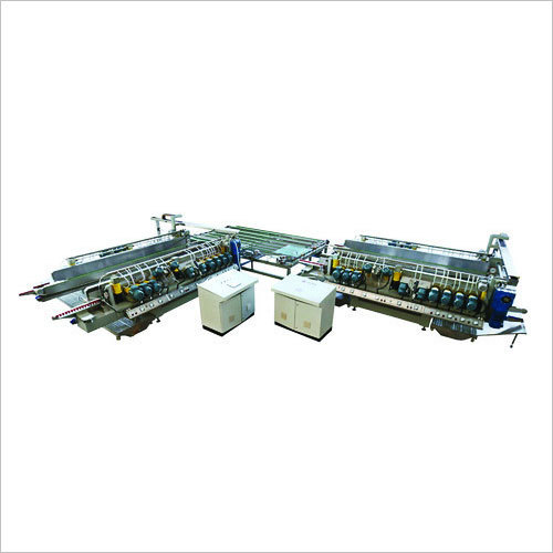L Type Straight Line Glass Double Edging Machine