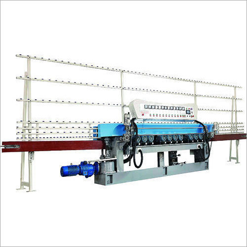Glass Straight Line Beveling Machine  PLC