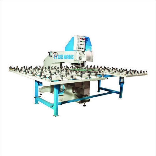 Horizontal Glass Double Drilling Machine