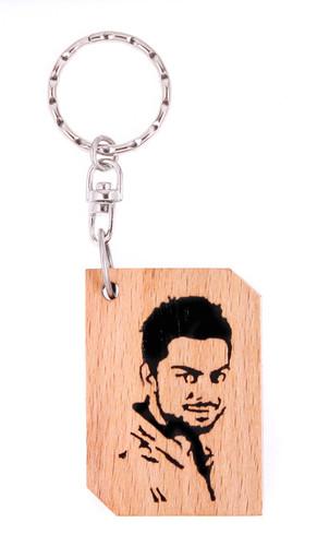 Wooden Handicraft Key chain