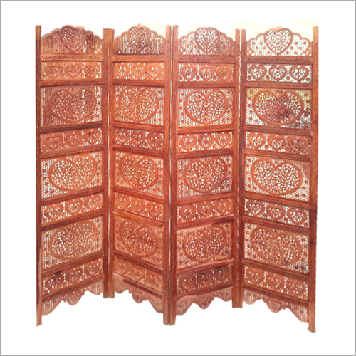 Handcrafted Wooden Screen