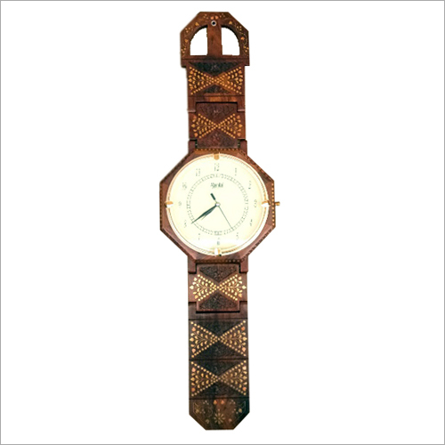 Sheesham Wall Clock