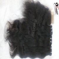 High Quality Hair Lace Frontal 100% Human Hair Weave Hair