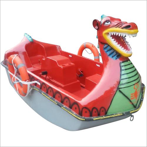 Dragon Fiberglass Paddle Boat