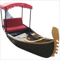 Wooden Water Boat