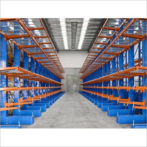Industrial steel racks