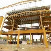 Steel Structures For Conventional Halls