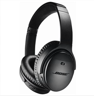 Earphone and headphone   Bose® – QuietComfort® 35 wireless headphones II – Black