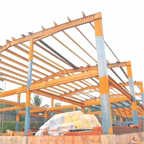 STEEL STRUCTURES FOR COMMERCIAL BUILDINGS