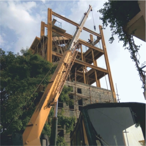 Steel Structure For Multistoried Buildings