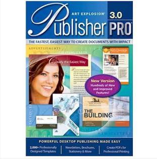 Electronic publications  Art Explosion Publisher Pro Platinum 3.0 – Windows [Digital]