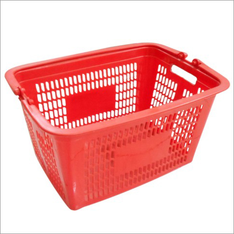 Plastic Mesh Handle Basket