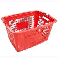 Plastic Mesh Handle Basket