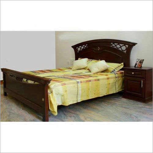 Wooden Antique Double Bed