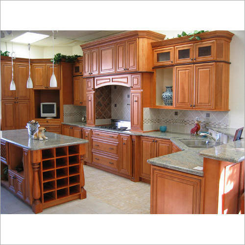Designer Wooden Modular Kitchen