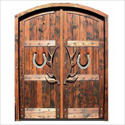 Brown Wooden Doors