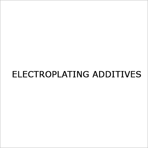 Electroplating Additives