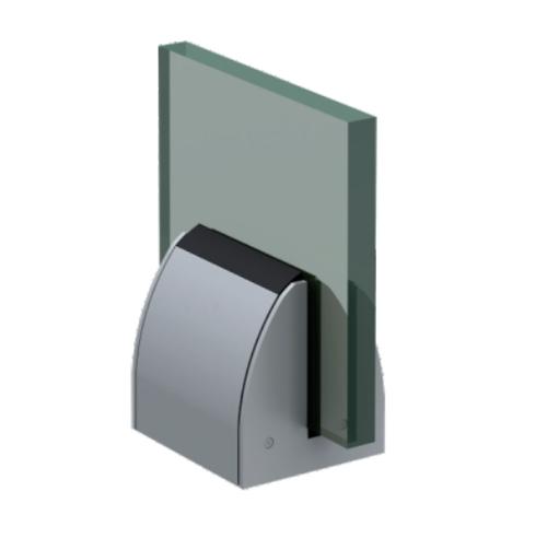 SRS 12 BRS Aluminum Modular Glass Railing