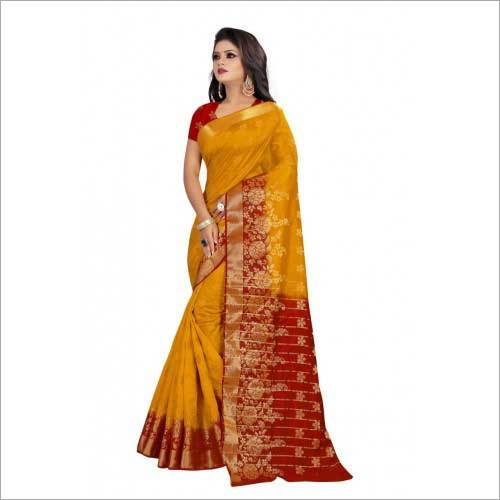 Ladies Designer Banarsi Silk Saree