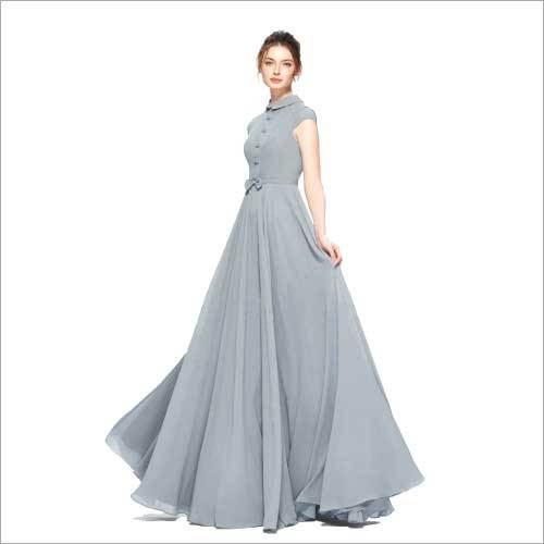 Ladies Georgette Gown