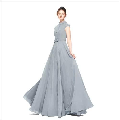 Ladies Georgette Gown
