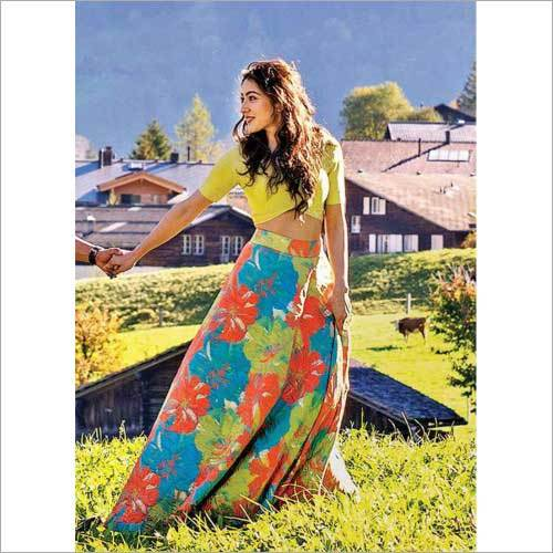 Ladies Printed Lehenga