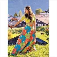 Ladies Printed Lehenga
