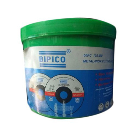 Bipico 105 Mm Metal Inox Abrasives Cutting Wheel