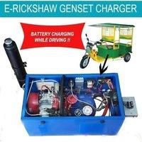 E Rickshaw Genset Charger