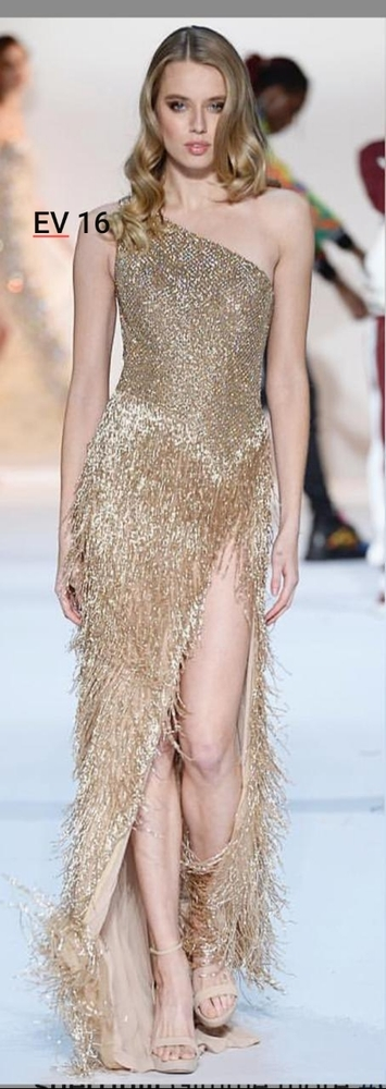 Golden Evening Gown