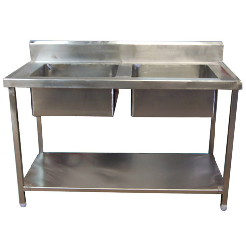 Commercial Two Sink Unit