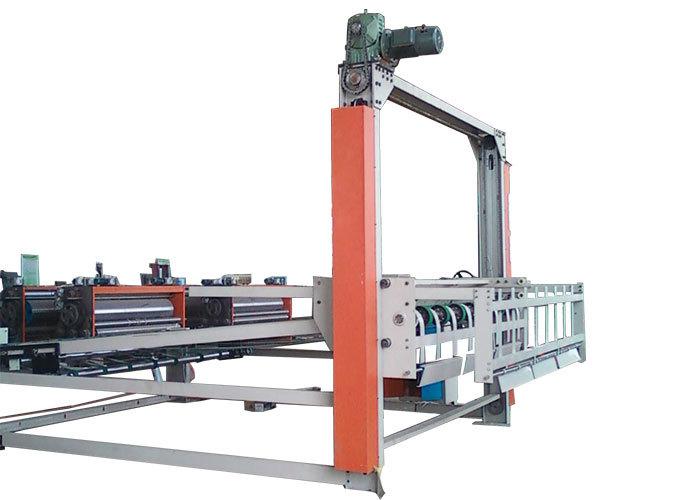 Gantry Corrugated Carton Box Making Machine / Stacker Paper Board Making Machine