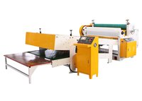 Reel Paper Slitting Sheet Cutter Machine Electric Driven Type For Carton Box
