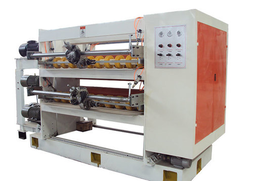 Automatic Corrugated Cardboard Production Line Helix Cut Off Machine With Rotary Knife