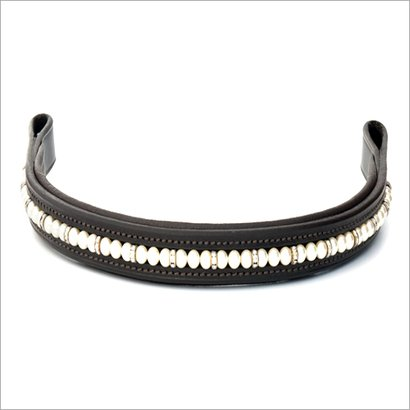 Leather Black Browband Application: Horse Riding