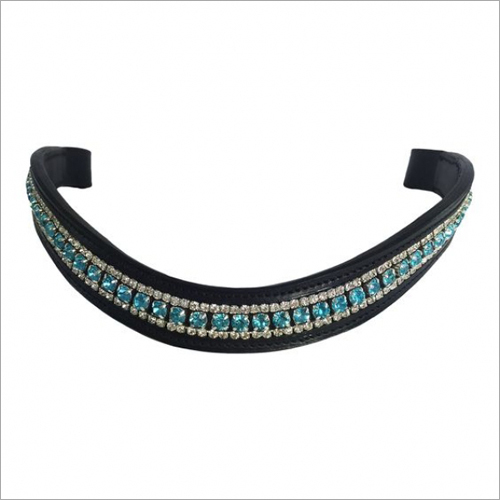 Curved Crystal Browband