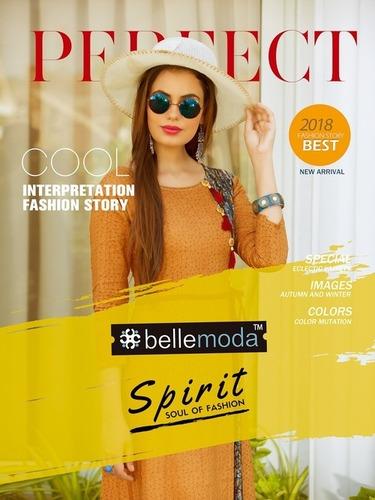 Bellemoda Spirit Western Kurtis And Top