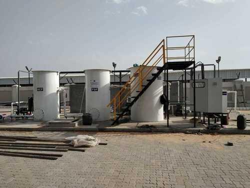 Electrolysis Sewage Treatment Plant