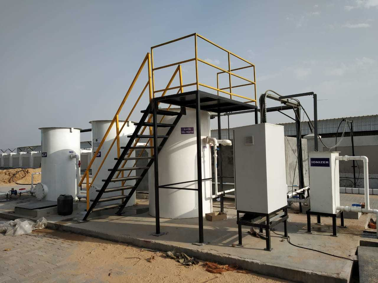 Electrolysis Sewage Treatment Plant