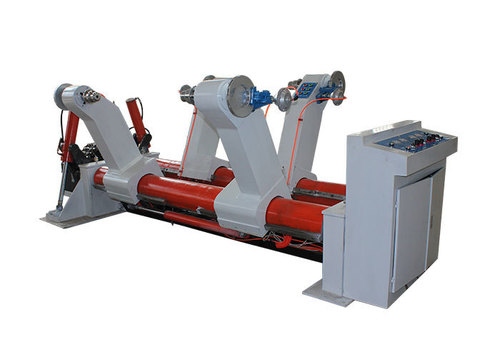 Hydraulic Shaftless Mill Roll Stand For Corrugating Medium Paper Roll