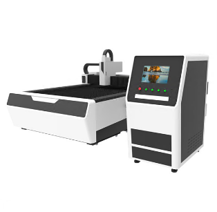 Fiber laser plate cutting machine
