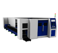 Enclosed Fiber Laser Cutting Machine with exchange platform