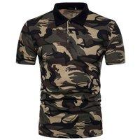 Mens Cotton Army POLO T-Shirt