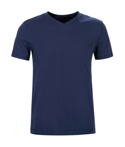 Men Solid V-Neck T-Shirt  -------   Rs 125/ Piece