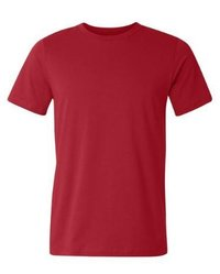 Red Plain Men's T-Shirt  --------  Rs 70/ Piece