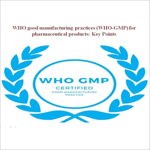 Industrial GMP Certification Services